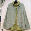 ストラクチャーデニムの柔らかジャケット