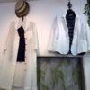 コットン・リネンのお洋服 夏の白コーディネイト