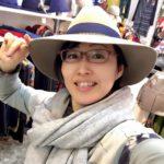 短パンマフラー@シノハラ風ミラノ巻き、あらためループ巻き