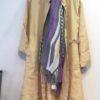 麻の柔らかスプリングコート